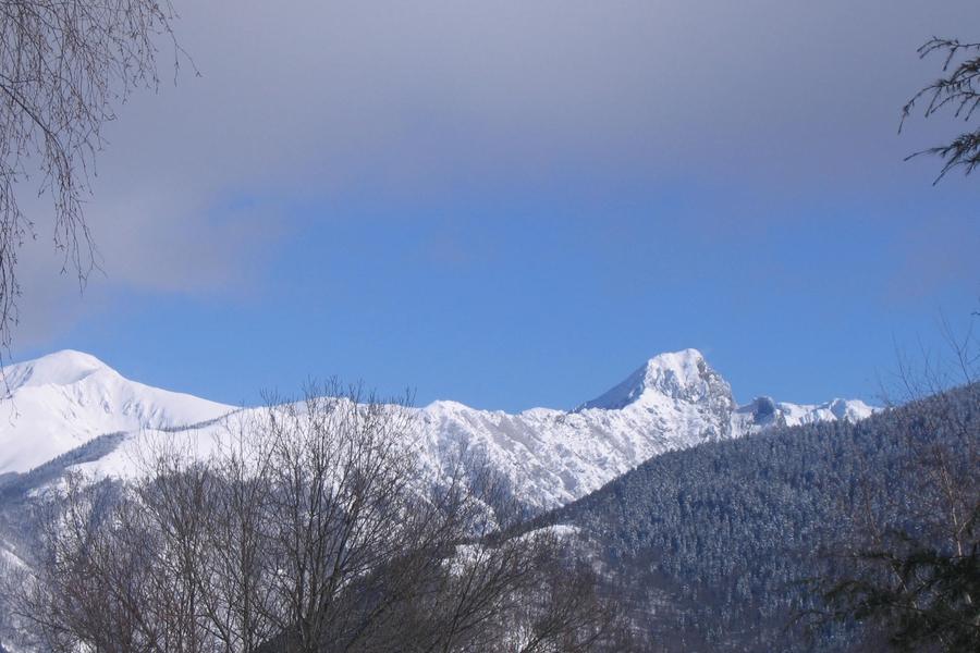 Dent d'Orlu depuis Bonascre (Ariège)