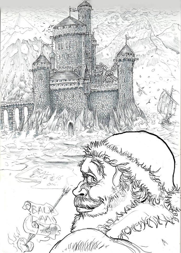 Père Noël par Pierre balda