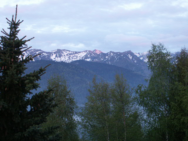 Les Pyrénées vues de Bonascre