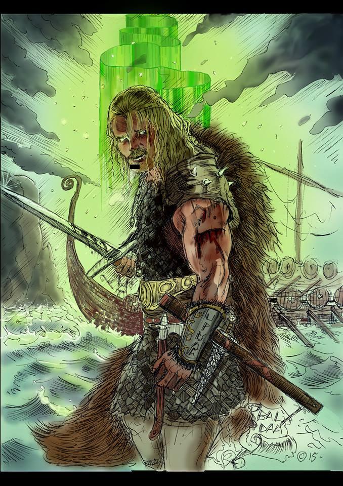 Vikings de pierre balda